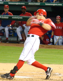 Although Kinsler missed significant playing time in 2010, he still represented the Rangers with his second All Star appearance