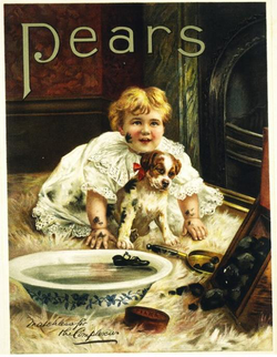 A 1900 advertisement for Pears soap.