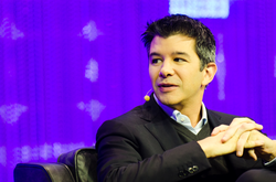 Travis Kalanick, co-founder and CEO of Uber, in 2013