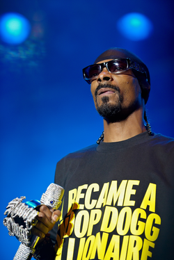Snoop Dogg in August 2009