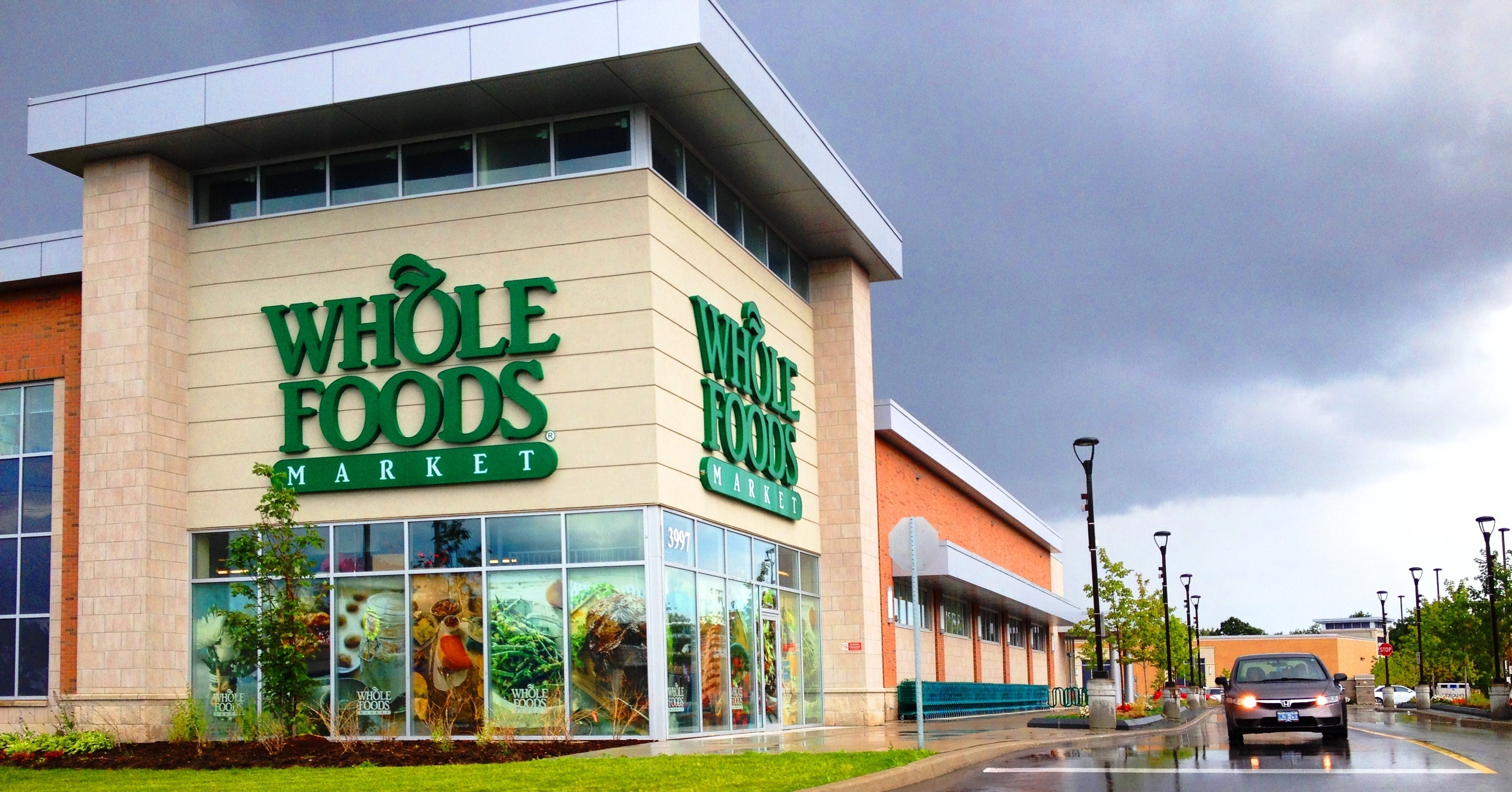 A Whole Foods Market in Markham, Ontario.
