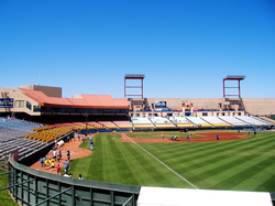 Cashman Field                                , home of the                                 Las Vegas 51s                                .