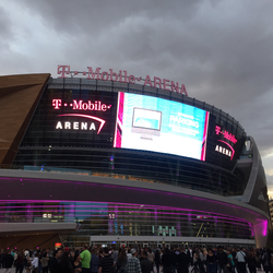 T-Mobile Arena, future home of the Las Vegas NHL team.