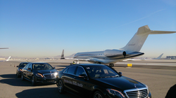 McCarran International Airport                                provides private and public aviation services to the city