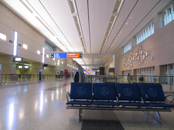 Inside Terminal 3 at McCarran International Airport, Paradise, Nevada