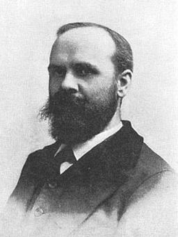 Benjamin Tucker                                , individualist anarchist and publisher of the periodical                                                   Liberty