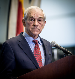 Former US Congressman and presidential candidate                                 Ron Paul                                , a self-described libertarian, is one of the most popular contemporary libertarians
