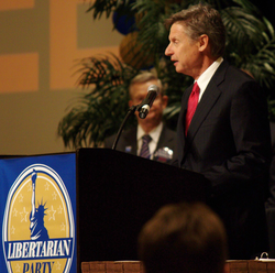Governor                                 Gary Johnson                                , 2012 and 2016 Libertarian Party presidential candidate