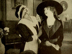 Lobby card from Open Your Eyes (1919)