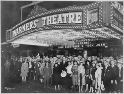 Don Juan                                opens Warners' Theatre