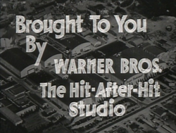 The studio as seen in the trailer for The Petrified Forest (1936)