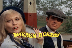 Faye Dunaway                                and                                 Warren Beatty                                as                                                   Bonnie and Clyde                                                 (1967)