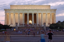 The Lincoln Memorial had over six million visitors in 2012.[120]