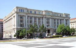 The John A. Wilson Building houses the offices of the mayor and council of the District of Columbia.
