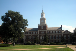 Founders Library at Howard University, a historically black university