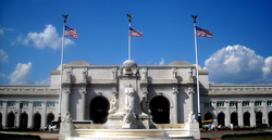 Union Station is a transportation hub for passengers on Amtrak, commuter rail lines, and the Washington Metro.