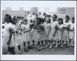 School integration, Barnard School,                                 Washington, D.C.                                , 1955