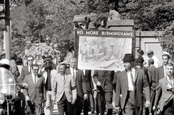 Congress of Racial Equality                                march in Washington DC on September 22, 1963 in memory of the children killed in the Birmingham bombings.