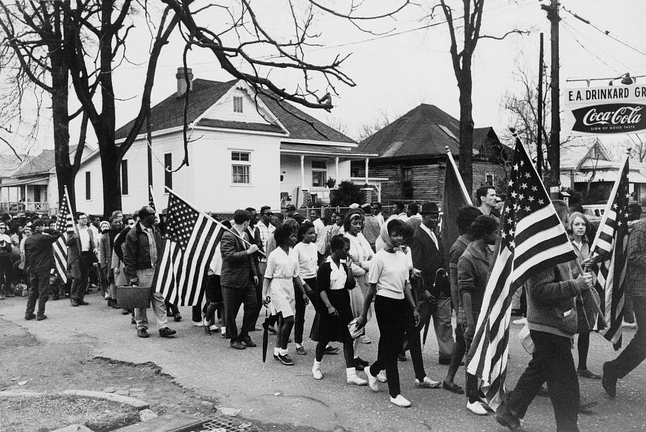 Participants in the Selma to Montgomery marches