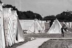 A 3,000-person shantytown called                                 Resurrection City                                was established on the                                 National Mall                                .