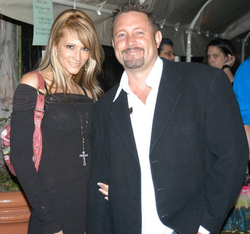 Jessica Drake and her husband                                 Brad Armstrong                                in 2006