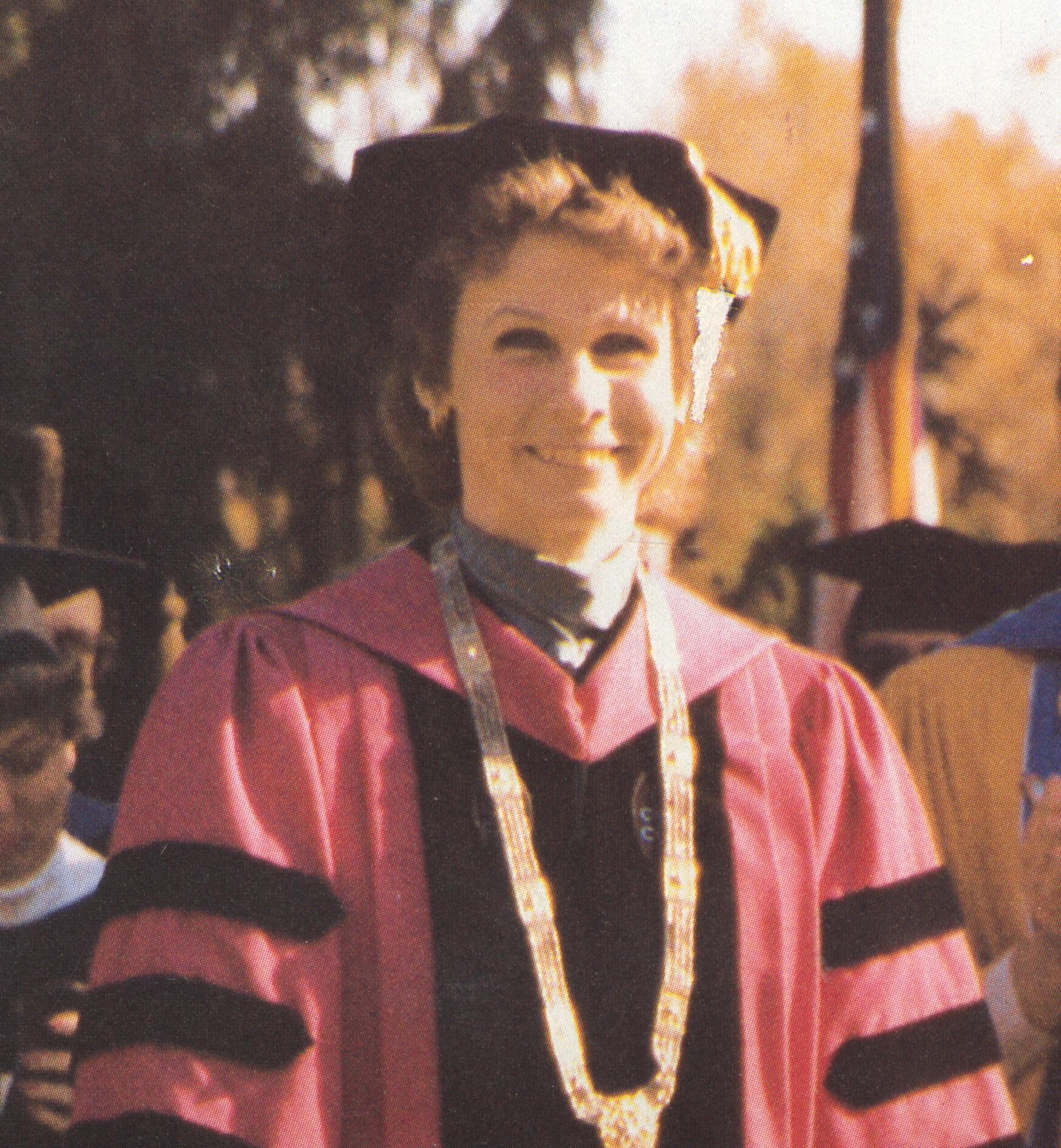 Frances D. Fergusson, Vassar's ninth president, served the college for 20 years.