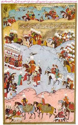 Suleiman I taking control of Moldova.