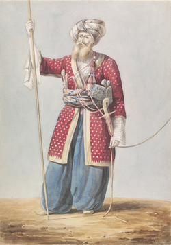 A                                 Mamluk                                nobleman from                                 Aleppo                                .