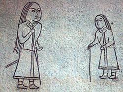 Göktürk petroglyphs from Mongolia (6th to 8th century)