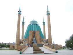 Mosque in Kazakhstan.
