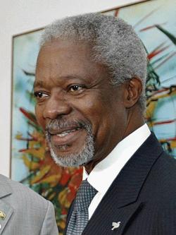 Kofi Annan                                , Secretary-General from 1997 to 2006