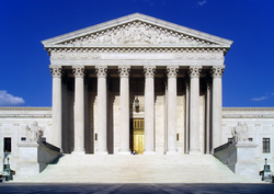 Supreme Court Building, where the nation's highest court sits