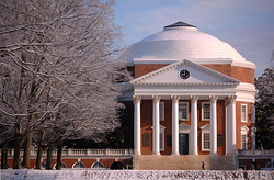 The University of Virginia, founded by Thomas Jefferson in 1819, is one of the many public universities in the United States.