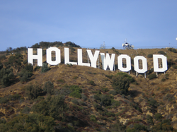 The Hollywood Sign in Los Angeles, California
