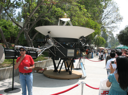 A display at the Open House on May 19, 2007.