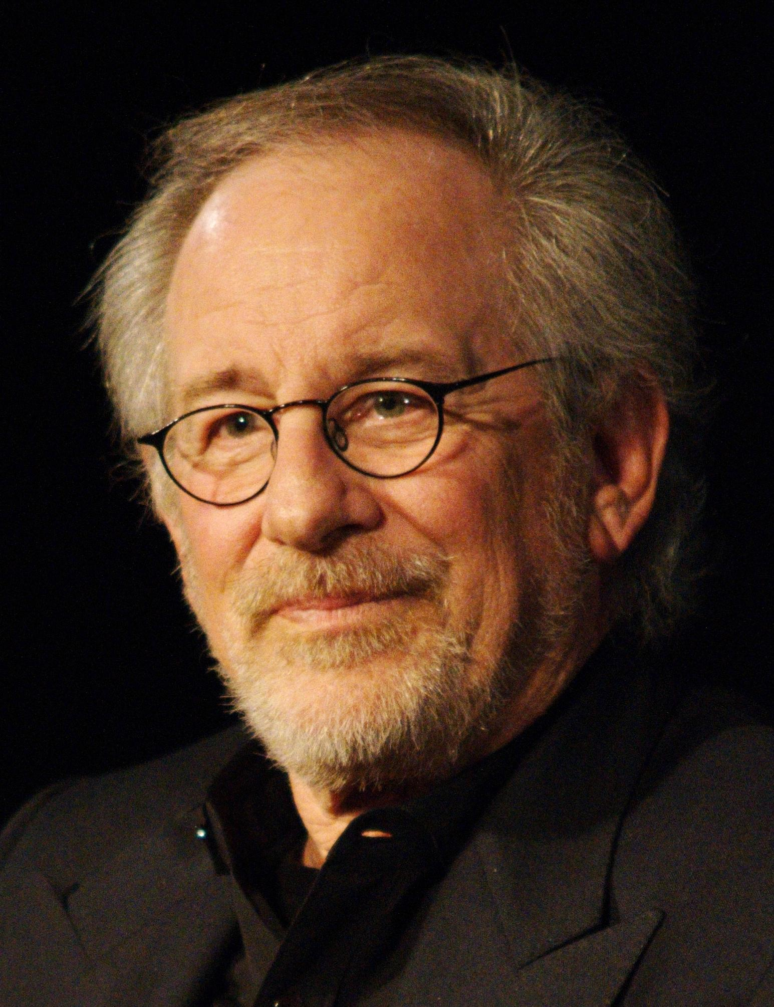 Spielberg at his masterclass at the Cinémathèque Française in January 2012.