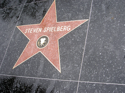 Steven Spielberg's star on the Hollywood Walk of Fame