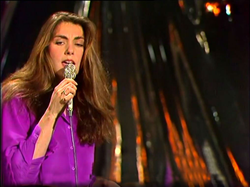 "Laura Branigan 1979, TV-show ""Ein unbekanntes talent"". It was broadcasted from Berlin in former Eastern Germany."