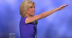 Saluting at the RNC 2016