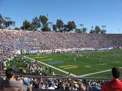 Football at the                                 Rose Bowl                                in Pasadena