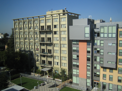Cunningham Hall and Towle Hall, part of the Unit 2 residence hall complex