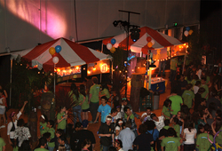 Berkeley Dance Marathon, one of the campus's student-led fundraising events.