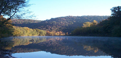 The Buffalo National River is one of many attractions that give the state its nickname, The Natural State.