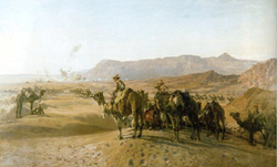 British Imperial Camel Corps Brigade in Egypt