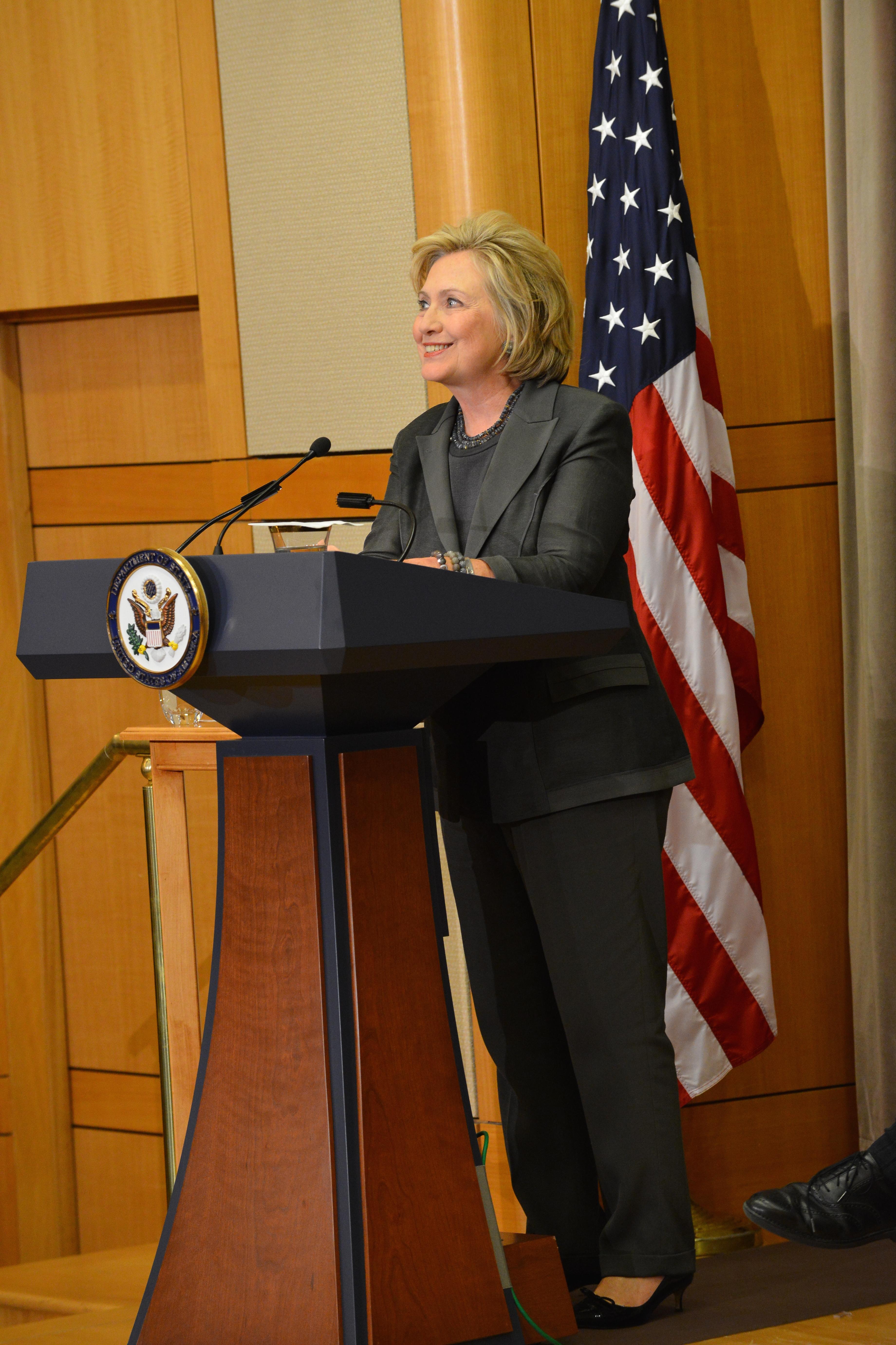 Clinton in September 2014