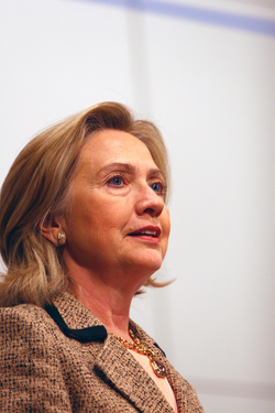 Clinton in February 2011