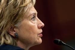 Clinton in 2009