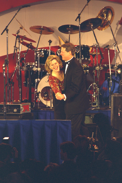 Vice President Gore and Tipper Gore, 1997