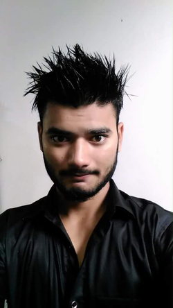 SHABIH ABBAS hair look