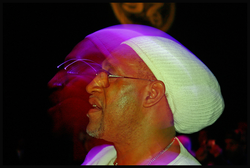DJ Kool Herc, recognized as one of the earliest hip hop artists